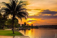 Pontão Lago Sul - Great place to watch the sunset in Brasilia