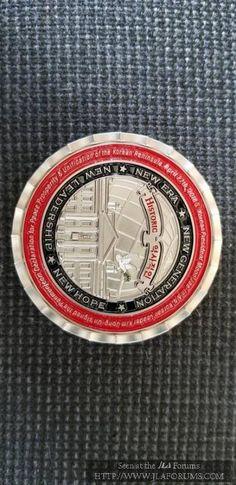 Donald Trump -Kim Jong-Un KOREAN Peace Talks Summit Medal Coin WHITE H $109