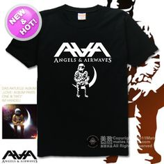 free shipping Punk Rock Angels and Airwaves Astros LOVE combed 100% cotton T shirt-in T-Shirts from Apparel & Accessories on Aliexpress.com | Alibaba Group