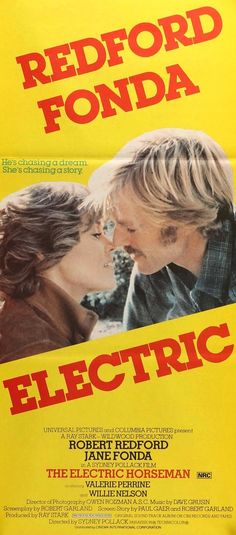 The Electric Horseman (1979) Original Australian Movie Poster