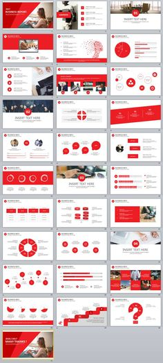 27+ Red Business chart PowerPoint Presentations template - Presentations Template