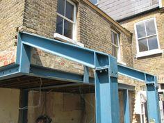 Image result for steel beam side return