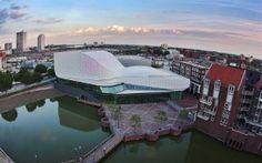 Ben van Berkel UNStudio Theatre de Stoep in Spijkenisse   Architecture