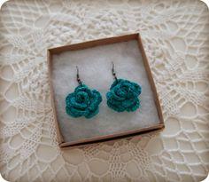 Crochet earrings <3
