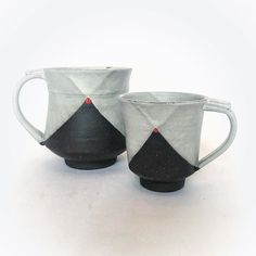 I have a few of these Blackware mugs left and ready to ship in time for Christmas! Tap my Link.in Bio to shop or go to my Etsy store. Glazing Techniques, Modern Aesthetics, Ceramic Studio, Natural Forms, Pottery Ideas, Old World, Etsy Store, Modern Design, Ship