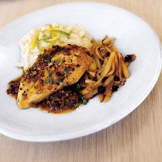 Chicken with Ale and Juniper Berries | Food & Wine