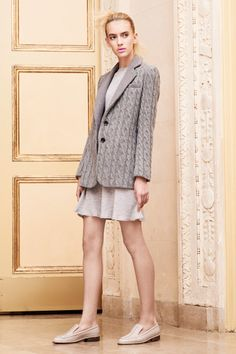 Thakoon -- the cable knit blazer Fall 2012
