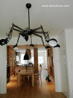 IKEA Hackers: Spider lamp from FORSÅ