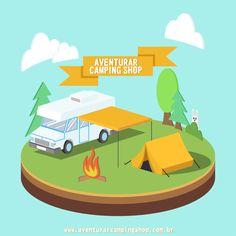Aventurar Camping Shop - Encontre acessórios para camping e muito mais! Confira: www.aventurarcampingshop.com.br