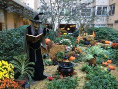 halloween garden in newyork