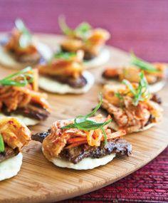 Korean Beef Bites from Steamy Kitchen's Healthy Asian Favorites by Jaden Hair