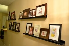 Day 14 – Decorating with family photos - The Frugal Homemaker | The Frugal Homemaker
