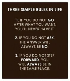 Funny pictures about Three Simple Rules In Life. Oh, and cool pics about Three Simple Rules In Life. Also, Three Simple Rules In Life photos. Motivacional Quotes, Life Quotes Love, Quotable Quotes, Great Quotes, Quotes To Live By, Inspirational Quotes, Famous Quotes, Quote Life, Inspiring Sayings