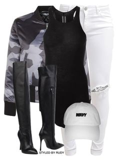 """Untitled #569"" by styledbyrudy ❤ liked on Polyvore featuring FiveUnits, Rick Owens and Giancarlo Paoli"