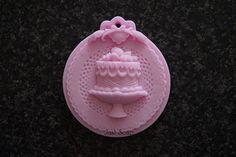 Cupcake op Medaillon | *Nieuw Februari Zeep* | Just soap
