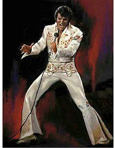 Perfect painting of Elvis Elvis Presley Pictures, Elvis Presley Family, Graceland Elvis, Star Hollywood, Films Western, Westerns, Mosaic Pictures, Lisa Marie Presley, Cross Paintings