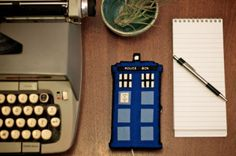 FREE TARDIS phone charging ststion pattern. It is a .pdf. Love this!♡