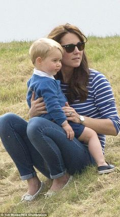 dailymail: Catherine and George, June 14, 2015