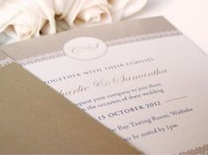 Boutique style wedding invitations and wedding stationery for Classical Elegance design Wedding Stationery, Wedding Invitations, Tasting Room, Place Card Holders, Beautiful, Elegant, Claire, Design, Classy
