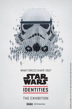 Star Wars Identities Exhibition Poster.