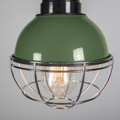 Lámpara colgante HARBOR verde #iluminacion  #decoracion #interiorismo