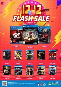 b0ccb15b87 12-16 Dec 2018  Gaming Gadgets 12-12 Flash Sale Ps4 Games