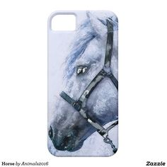 Horse iPhone SE/5/5S Case #horse #animals #art #farm #clothing #accessories #home decor #poster #print #accessories #present #gifts #print #pictures #drawings
