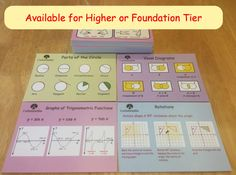 Corbettmaths Revision Cards... 90 engaging revision cards, each with a supporting video and set of questions and answers. Available for Higher or Foundation GCSE Maths