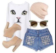 Call me a crazy cat lady, but I love this top!