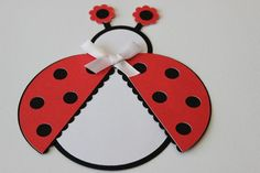 Carte anniversaire enfant coccinelle : Cartes par calli-creations Lady Bug, Creative Crafts, San Antonio, Diy For Kids, Creations, Crafting, Scrapbooking, Education, Etsy