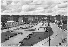 Skwer Kościuszki - okres okupacji