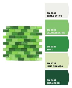 Lime granita for kitchen walls?