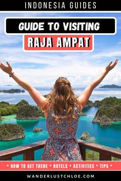 This Raja Ampat travel guide will help you plan your trip. Find out how to get there, the best activities and more tips to make your adventure stress free. Find out the best things to do in Raja Ampat, the best ferry route, hotels and all about diving and snorkeling in Raja Ampat. Plus, where to go for the best photography spots so you can have your very own photoshoot with those dreamy landscapes and turquoise sea. #RajaAmpat #Indonesia #IndonesiaTravel #Islands #Paradise #TravelInspiration