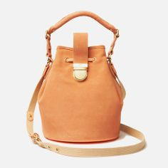 """Heritage Live"" bucket bag in leather - lacoste"