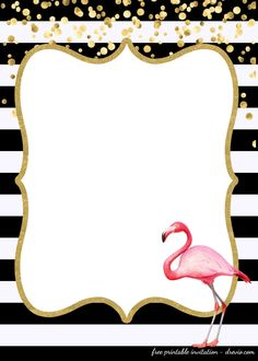 Awesome FREE Template FREE First Birthday Invitations Flamingo Style - josephine Flamingo Party, Flamingo Birthday, Luau Birthday Invitations, Free Printable Invitations Templates, Templates Free, Wallpaper, Ideas, Invitation Cards, Invitation Background