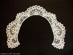 Lace Collar - Vologda bobbin lace