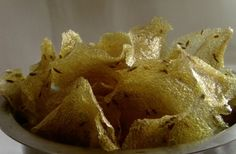 Bombay Rava Vadiyalu ~ Sun Dried Indian Traditional Wafers | Sooji / Semolina : 1 cup Water : 7 cups Green chilli paste : 1 to 2 tsp Cumin Seeds : 1 tsp Salt to taste