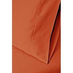 Simple Luxury 300 Thread Count  Pillowcase Set Color: Light Blue, Size: Standard