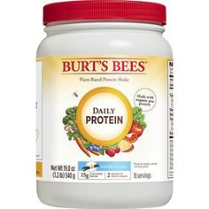 Paleo Snacks Book - Burt's Bees Plant-Based Protein Powder - Vegetarian Pea Protein, Daily Protein, Vanilla *** Find out more about the great product at the image link. (This is an affiliate link) Grape Nutrition, Nutrition Shakes, Healthy Nutrition, Healthy Drinks, Healthy Foods, Protein Fruit, Plant Protein, Protein Shakes, Protein List