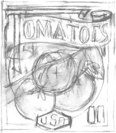 T for Tomato | USPS Stamps