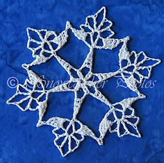 Snowcatcher Snowflake Directory - tons of crochet snowflake patterns. Crochet Thread Patterns, Crochet Snowflake Pattern, Christmas Crochet Patterns, Crochet Christmas Ornaments, Crochet Stars, Crochet Snowflakes, Holiday Crochet, Snowflake Ornaments, Christmas Snowflakes