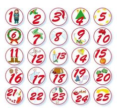 Countdown to Christmas Fabric Advent Calendar, Diy Calendar, Advent Symbols, Christmas Countdown, Christmas Diy, Christmas Express, Personalised Christmas Decorations, Calendar Numbers, Free Printable Banner