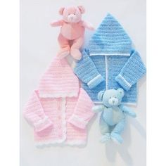 Free Easy Baby's Garment Crochet Pattern