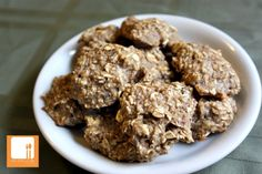 Two-ingredient cookies - 1 cup oats and 2 large, ripe bananas. Bake 350 for 15 minutes.