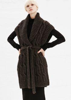 Maison Martin Margiela Handmade Open Weave Sweater in Light Grey #totokaelo #maisonmartinmargiela