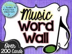 Music Word Wall {Music is a Universal Language Set} - Akustik ve Ses Yalıtımı Music Word Walls, Music Words, Music Bulletin Boards, Polka Dot Theme, Classroom Supplies, Elementary Music, Classroom Inspiration, Music Classroom, Teaching Music