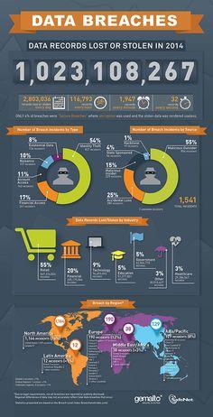 Data breaches infographic