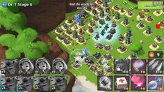 Boom Beach : Exp 62 : Dr T. Stages 1 to 7 | Tank | Medic (16 Oct 2016)