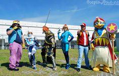 Super Smash Bros Brawl Cosplay of Wario, Shiek, Ganondorf, Zero Suit Samus, Pokémon Trainer, and King Dedede