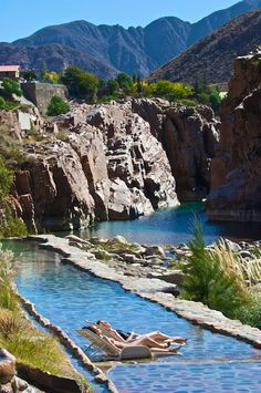 There comes a time when vacationing itself becomes exhausting, which is the perfect moment to escape to Mendoza's Termas de Cacheuta Sps and hot springs. Mendoza, Argentina South America, South America Travel, Oh The Places You'll Go, Places To Travel, Places To Visit, Patagonia Travel, Spa, Chile